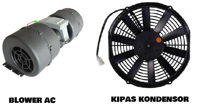 blower dan kipas kondensor