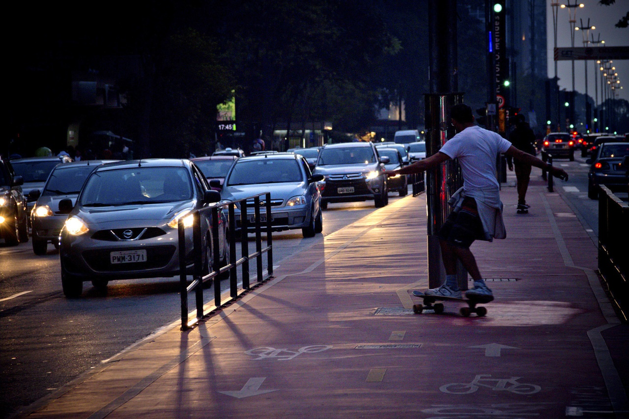 fungsi lampu kota
