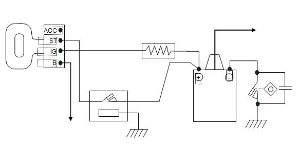 rangkaian start dengan relay