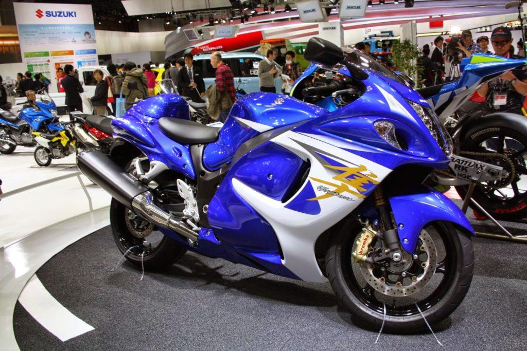 Suzuki Hayabusa Pearl Vigor Blue