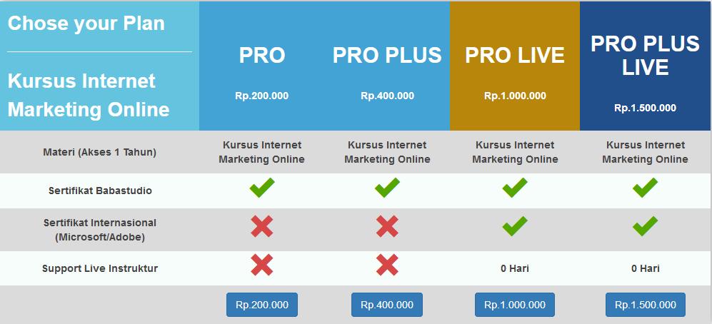 Belajar Online 6 : Internet Marketing