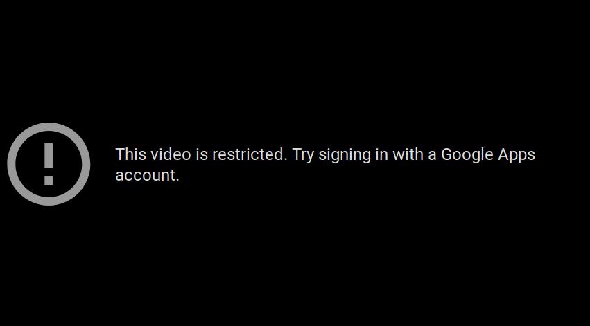 video youtube dibatasi kena resticted mode