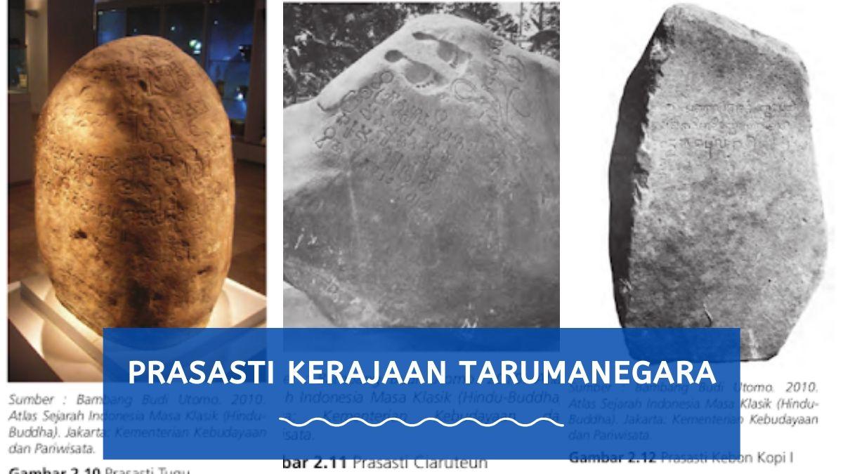 prasasti kerajaan tarumanegara