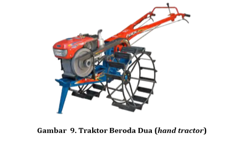 Traktor Beroda Dua (Hand Tractor)