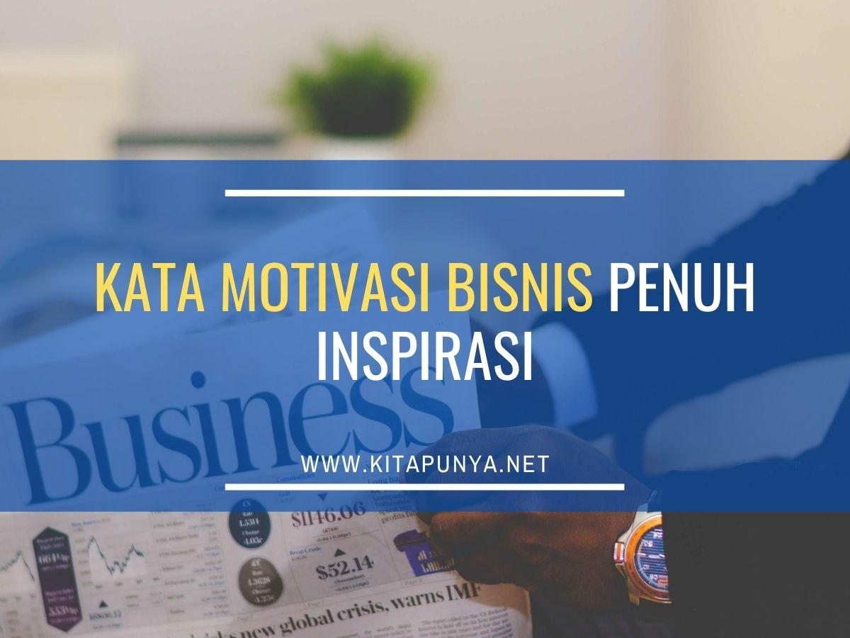 kata motivasi bisnis