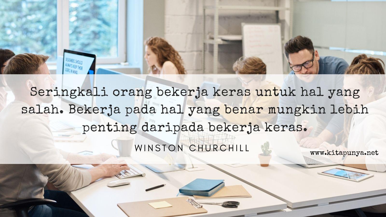 kata motivasi bisnis kerja keras