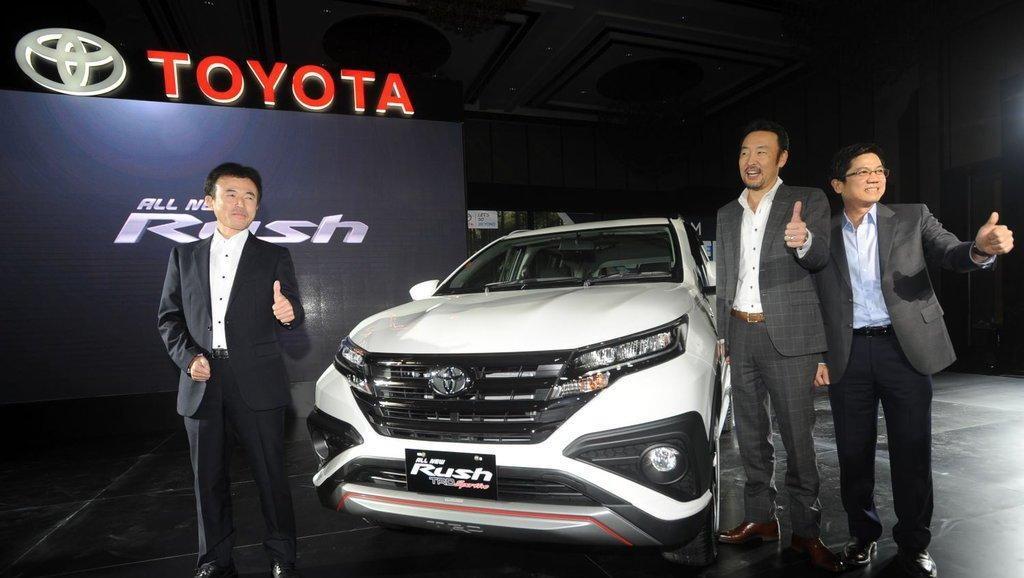 Spesifikasi Mobil Toyota Rush