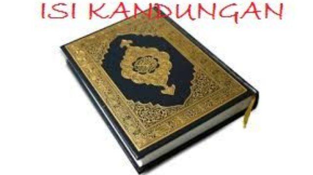 Isi kandungan Quran Surat Al-Isra'
