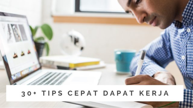 tips cepat dapat kerja