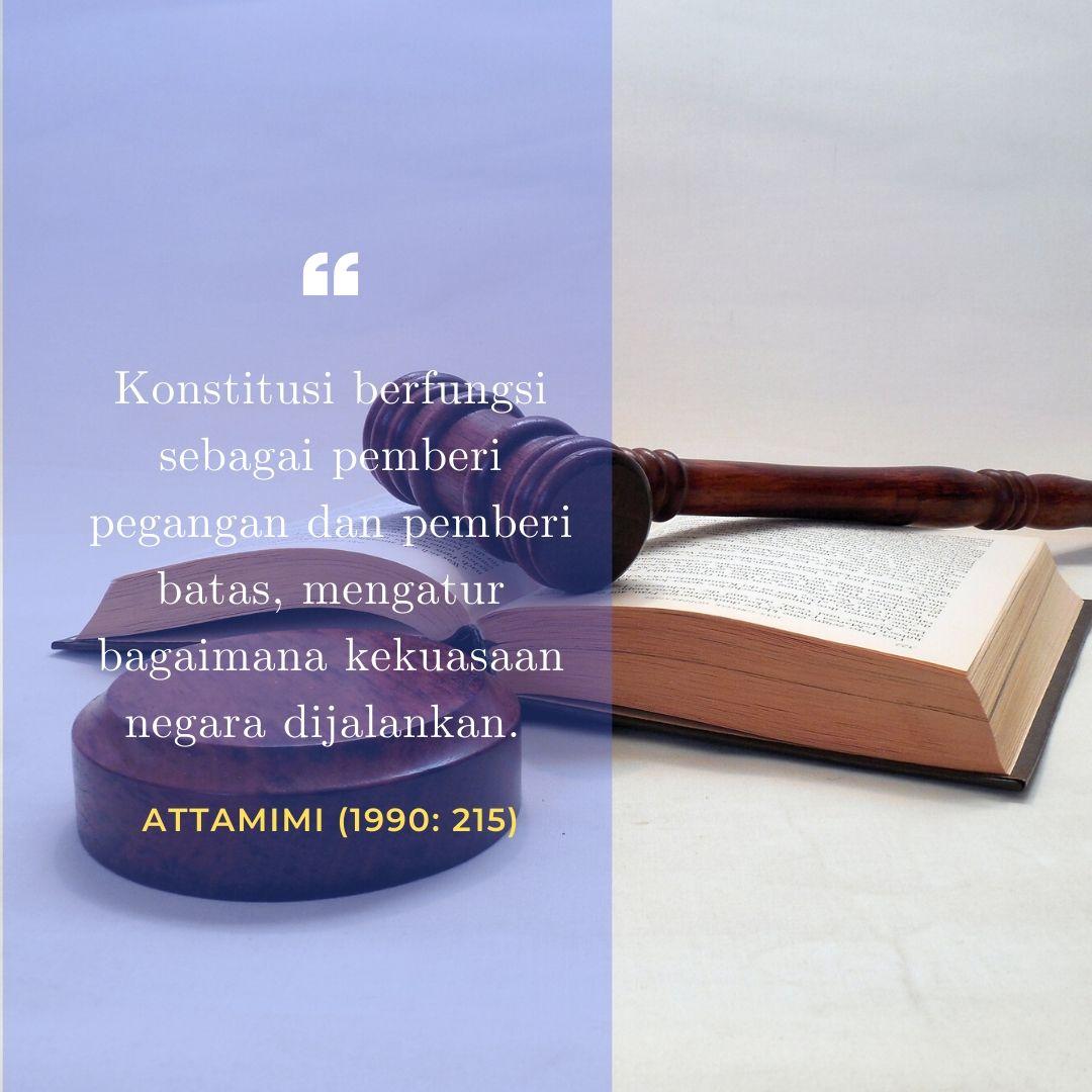 Fungsi Konstitusi