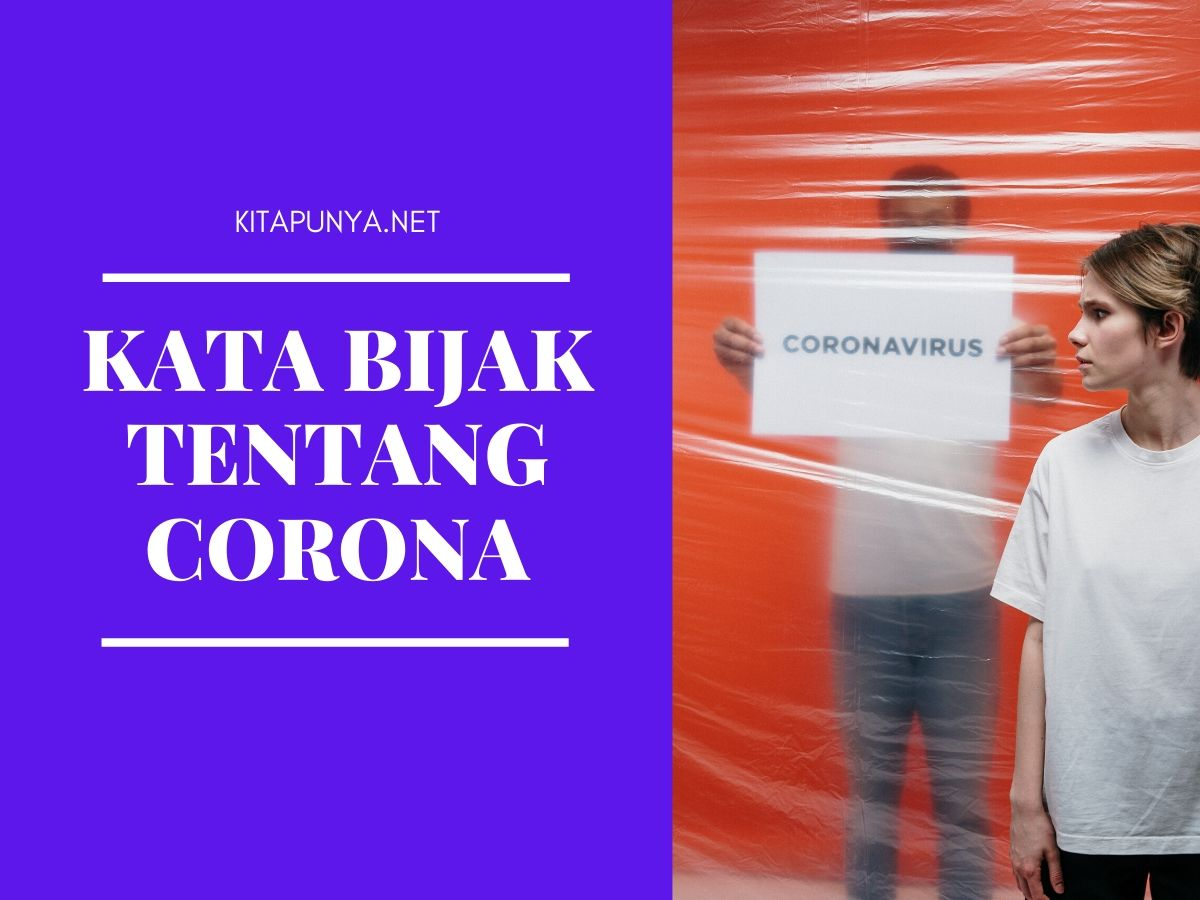 kata bijak tentang wabah corona