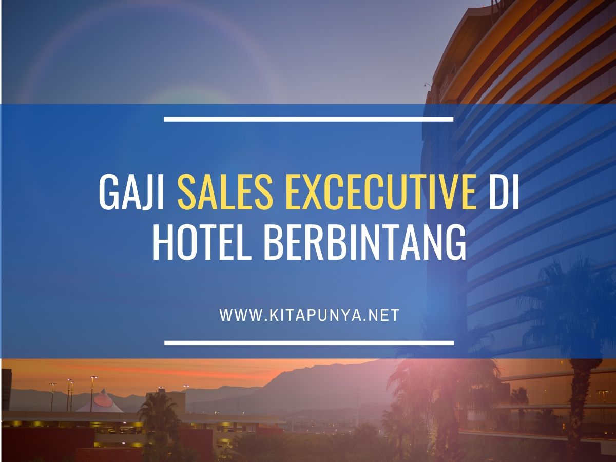 gaji sales executive