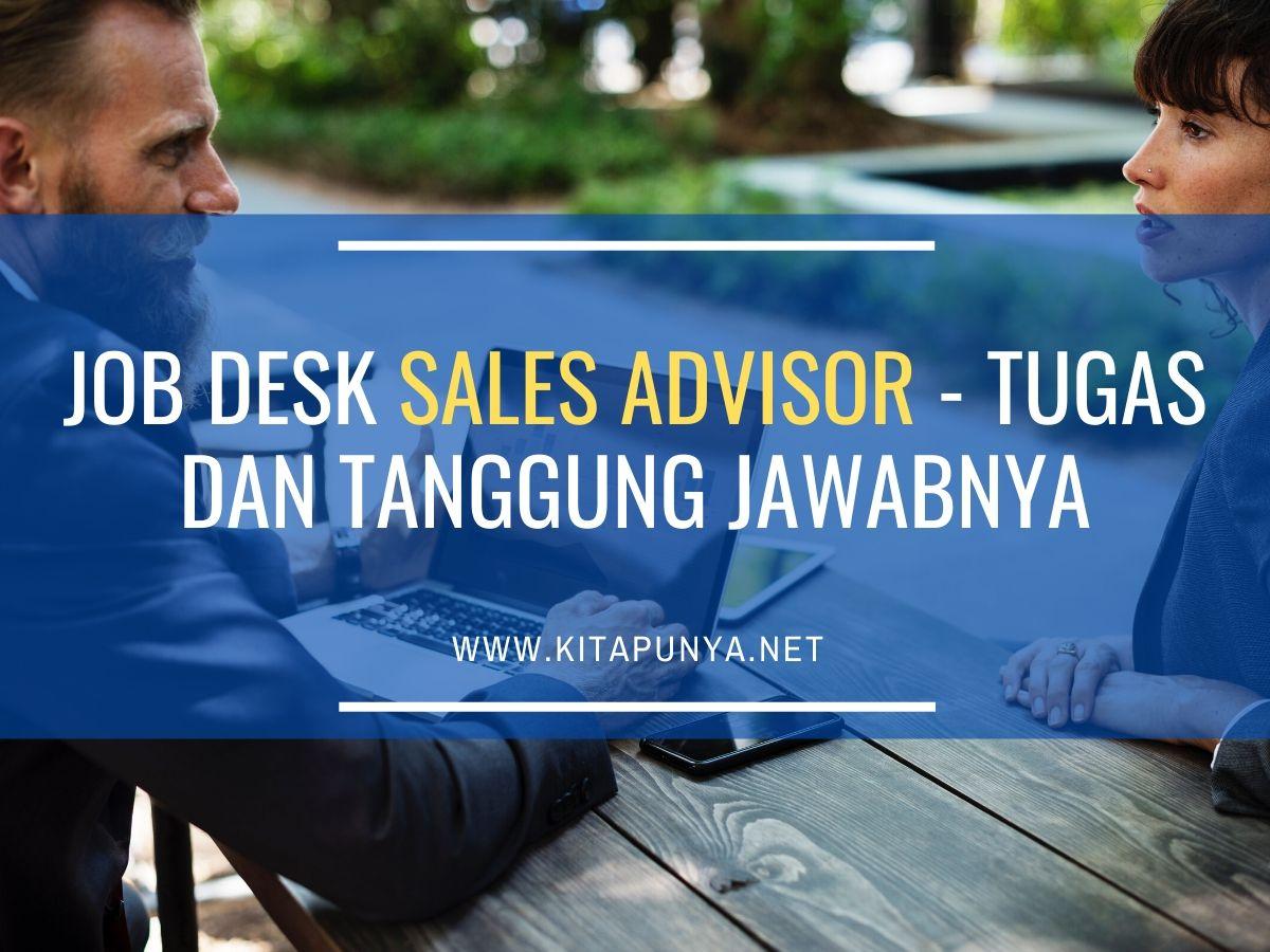 jobdesk sales advisor