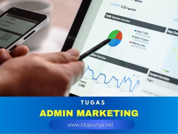 tugas admin marketing