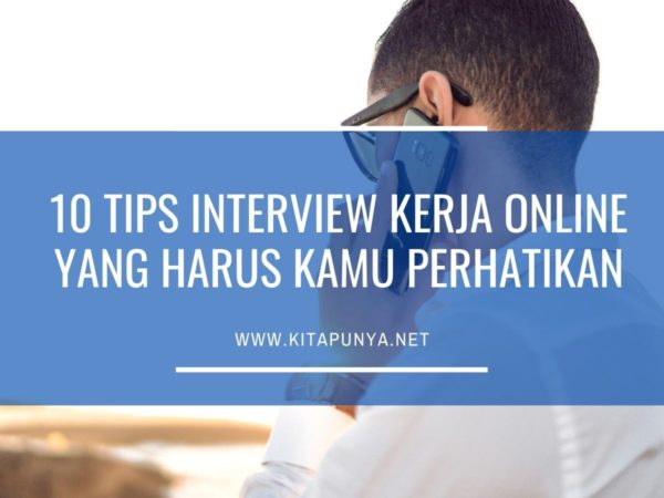 tips interview kerja online