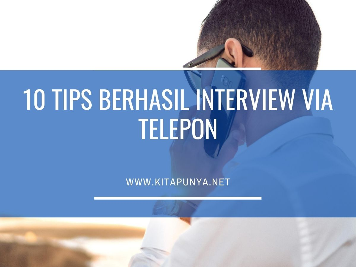 tips interview via telepon