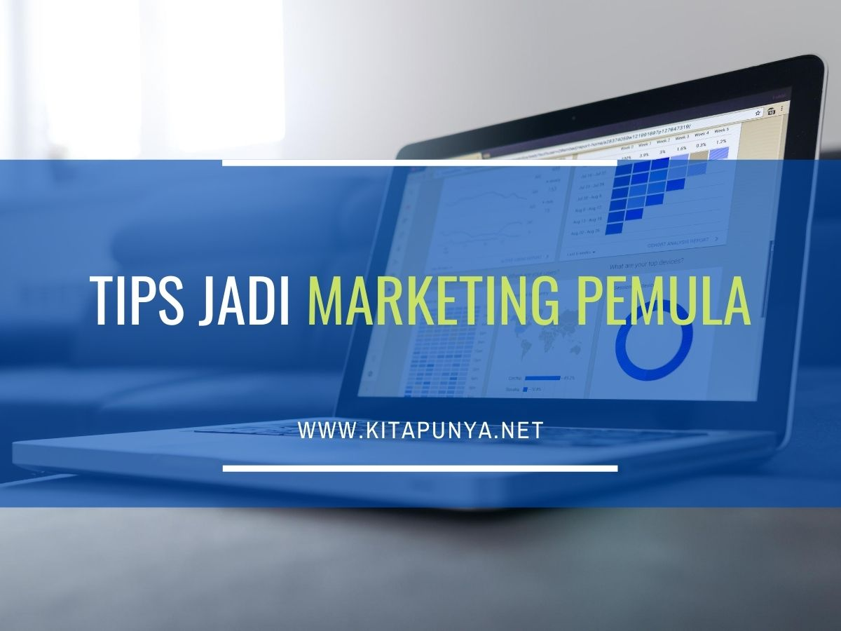 tips jadi marketing pemula