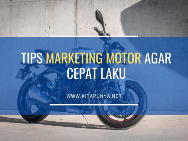 tips marketing motor