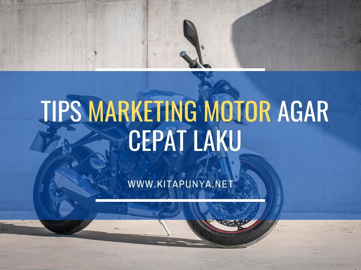 tips marketing motor
