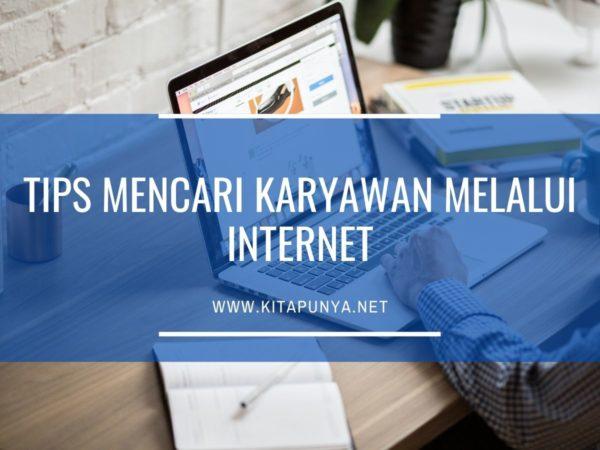 cara mencari karyawan melalui internet