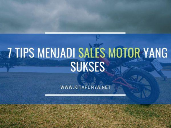 tips menjadi sales motor