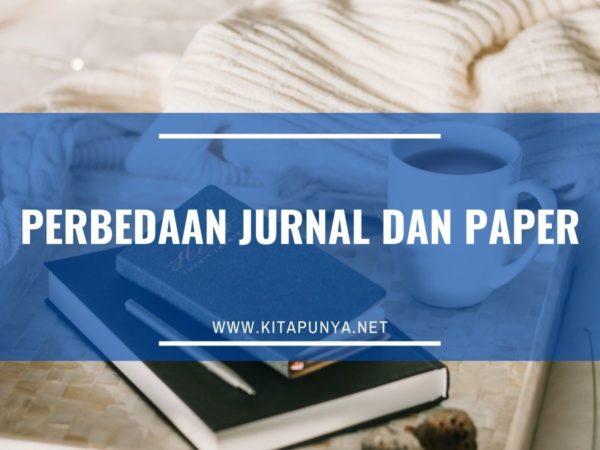 perbedaan paper dan jurnal