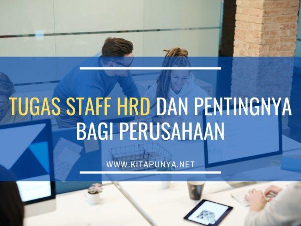 tugas staff hrd