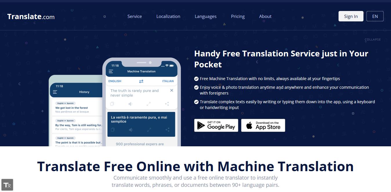 translate com