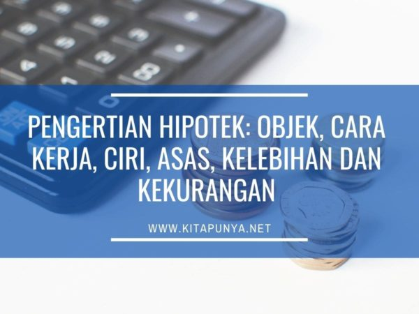 pengertian hipotek
